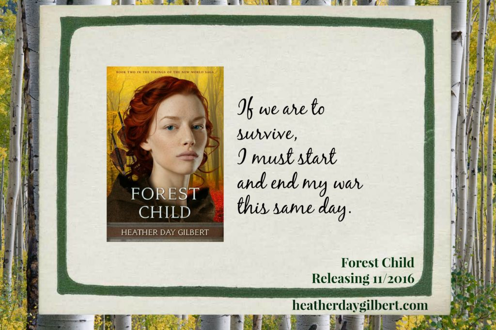 Forest Child Viking Novel Releasing November 1st!