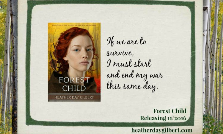 Forest Child Viking Novel Releasing November 1st