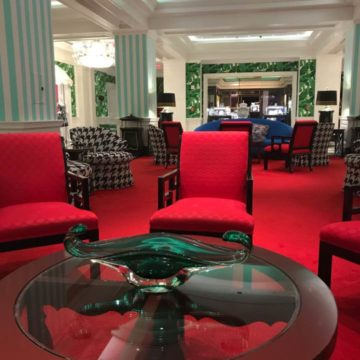 lounge area greenbrier